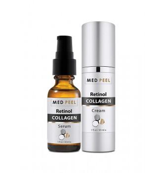 Bộ điều trị lão hóa da nâng cơ MedPeel Retinol Collagen