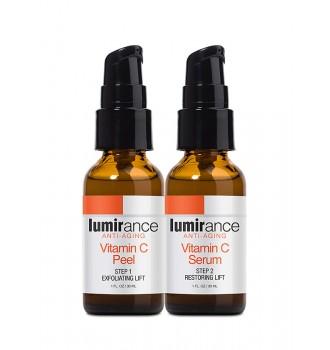 Bộ tái tạo da sinh học Lumirance Vitamin C Peel Kit