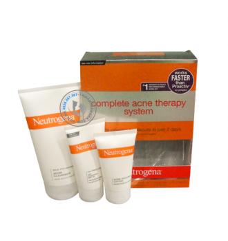 Bộ Điều Trị Mụn Neutrogena Complete Acne Therapy System