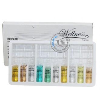 Bộ dưỡng trắng, chống lão hóa cho da nhạy cảm Azulene Wellness