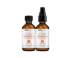 Bộ tinh chất vitamin C tái tạo da 3 ngày Medpeel