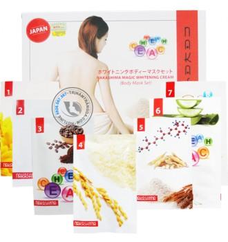 Bộ kem tắm trắng Nakashima Magic Whitening Cream (Set 7)