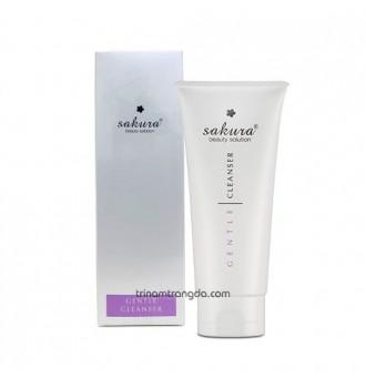 Sữa rửa mặt dành cho da nhạy cảm Sakura Gentle Cleanser
