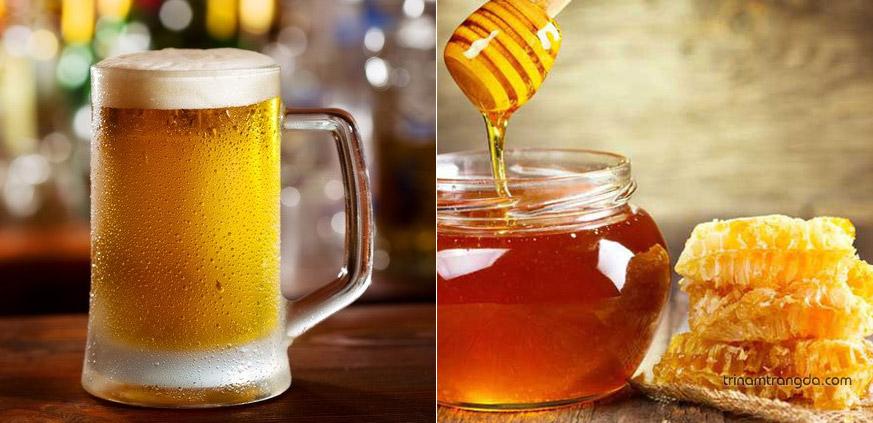 2. Chăm sóc tóc bằng bia kết hợp với mật ong