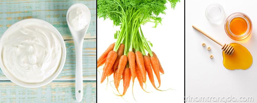 3 Công thức mặt nạ dưỡng da từ cà rốt 3