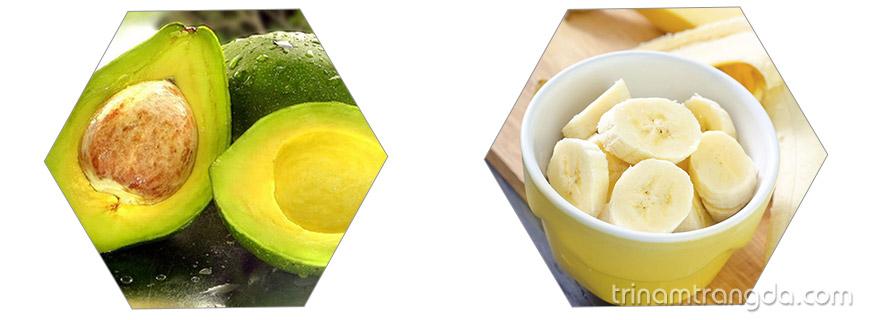 Cách phục hồi tóc hư tổn nặng nhanh nhất với bơ và chuối