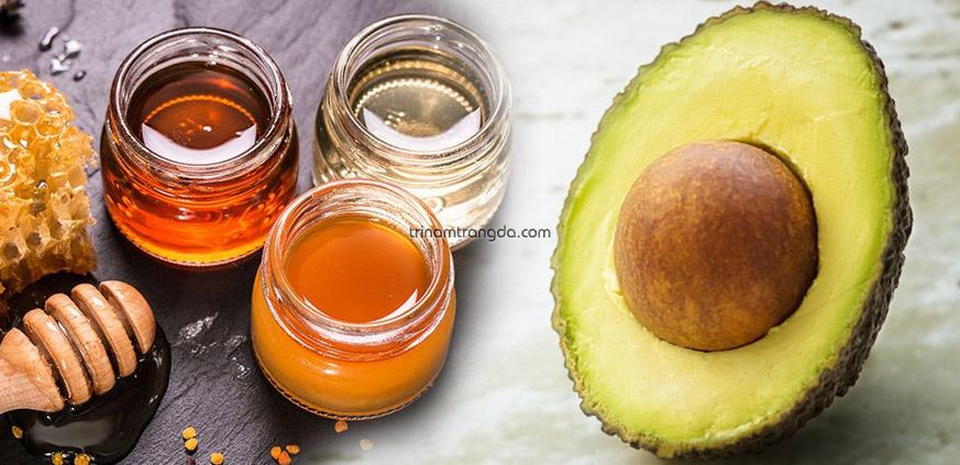 Cách làm mặt nạ trị nám da mặt bằng mật ong và bơ