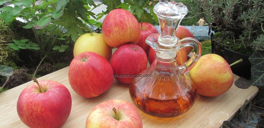 Trị nám làm trắng da hiệu quả tại nhà bằng giấm táo