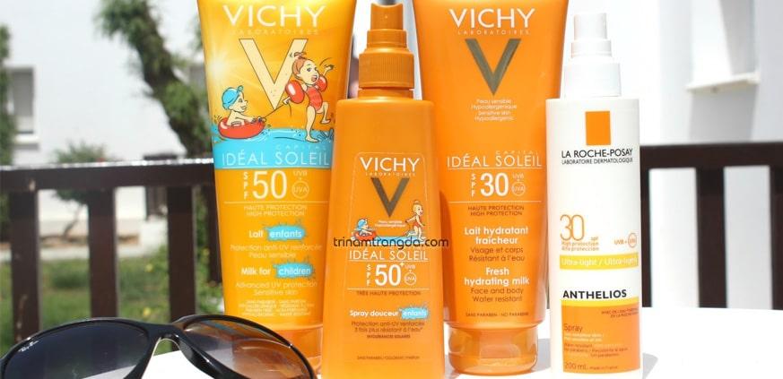Dòng chống nắng thương hiệu Vichy