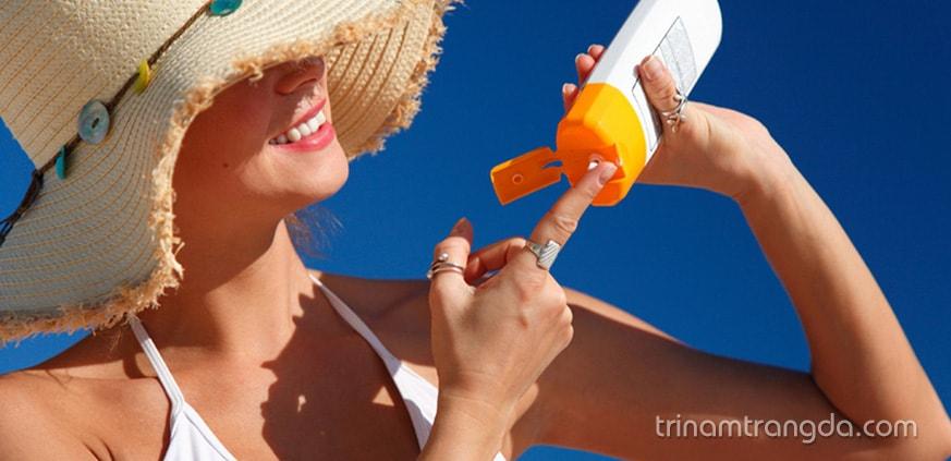 Lựa chọn kem chống nắng phù hợp