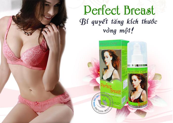 Kem Nở Ngực Tự Nhiên Dạng Xịt Perfect Breast_1
