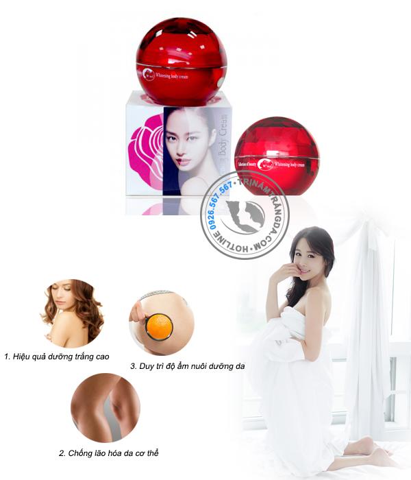 Kem Trắng Da Toàn Thân Whitening Body Cream 200ml