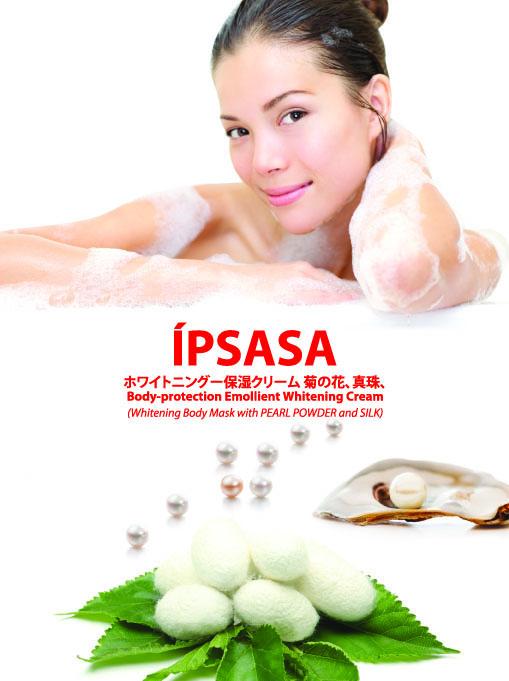 Kem tắm trắng Ipsasa từ ngọc trai và tơ tằm_1