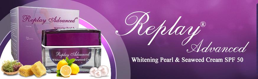 Kem dưỡng trắng da ngăn ngừa nám Replay Advanced Whitening 1