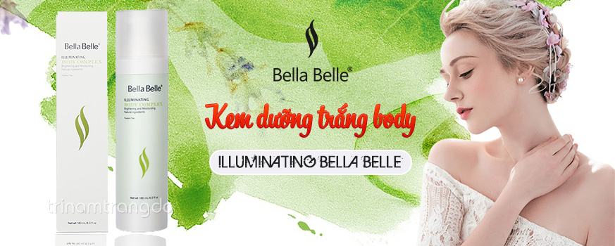 Kem dưỡng trắng body Illuminating Bella Belle