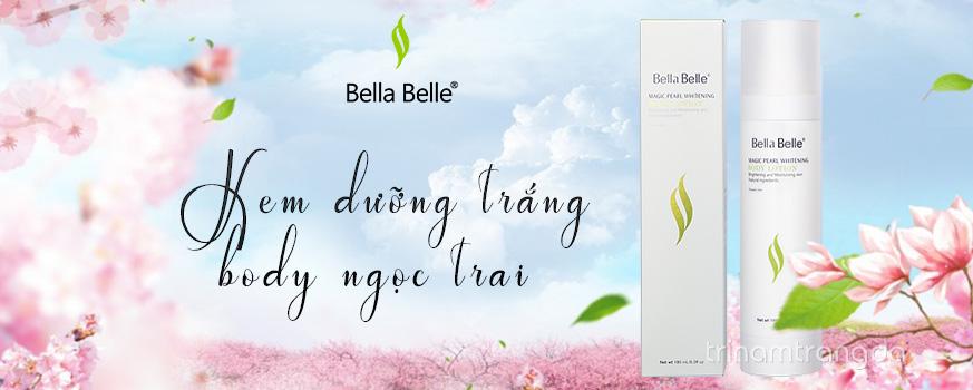 Kem dưỡng trắng da toàn thân Bella Belle Body chiết xuất từ tinh chất ngọc trai