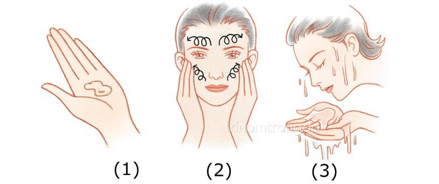 Các bước làm sạch da đúng cách với sữa rửa mặt Koee