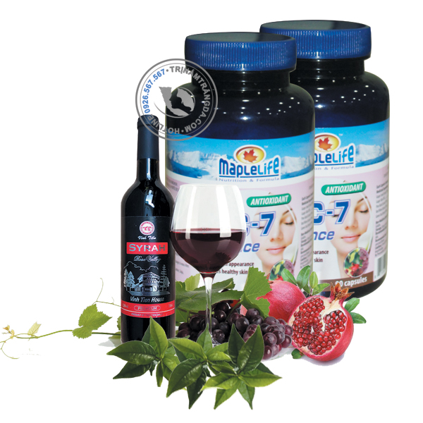Viên uống trắng da ngăn ngừa lão hóa OPC -7 Radiance Maplelife 2